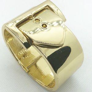 Jewelry - Gold Buckle Hinge Bracelet